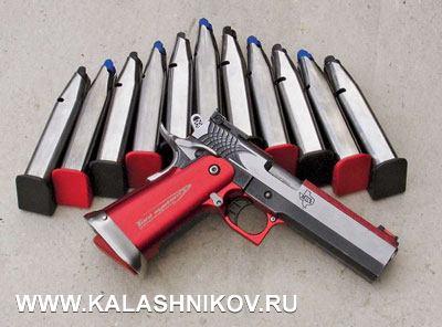 Для STI предлагается множество вариантов тюнинга икаждый стрелок может выбрать для себя внешний вид или цветовую схему пистолета