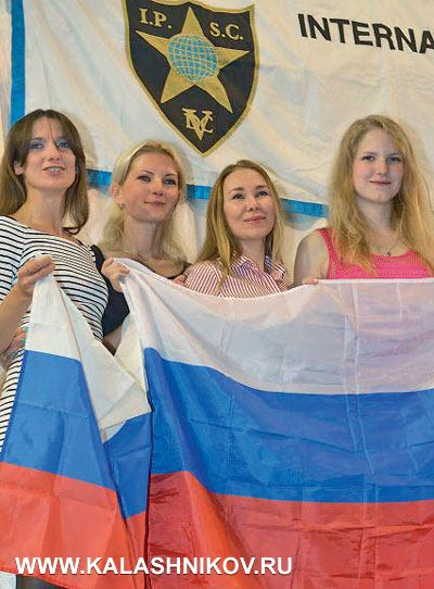 «Cеребряная» команда девушек в серийном классе: Екатерина Табаченко, Инна Деледивка, Ирина Горбачева, Екатерина Гордиенко