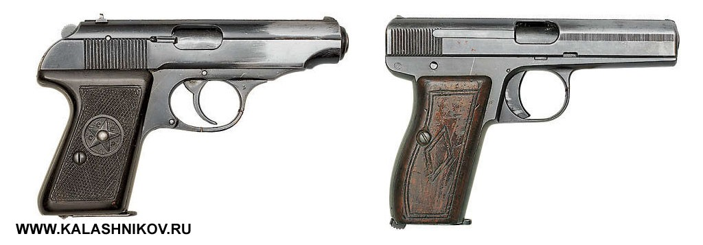 Пистолеты Севрюгина и Симонова. Фото журнала «Калашников»