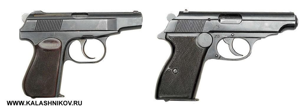 Пистолеты Макарова и Климова Лобанова. Фото журнала «Калашников»