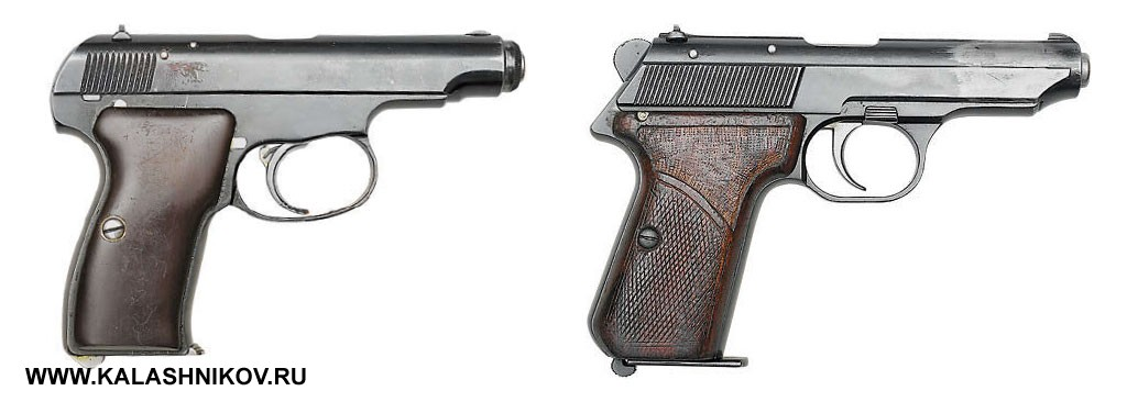 Пистолеты Коровина и Ракова. Фото журнала «Калашников»