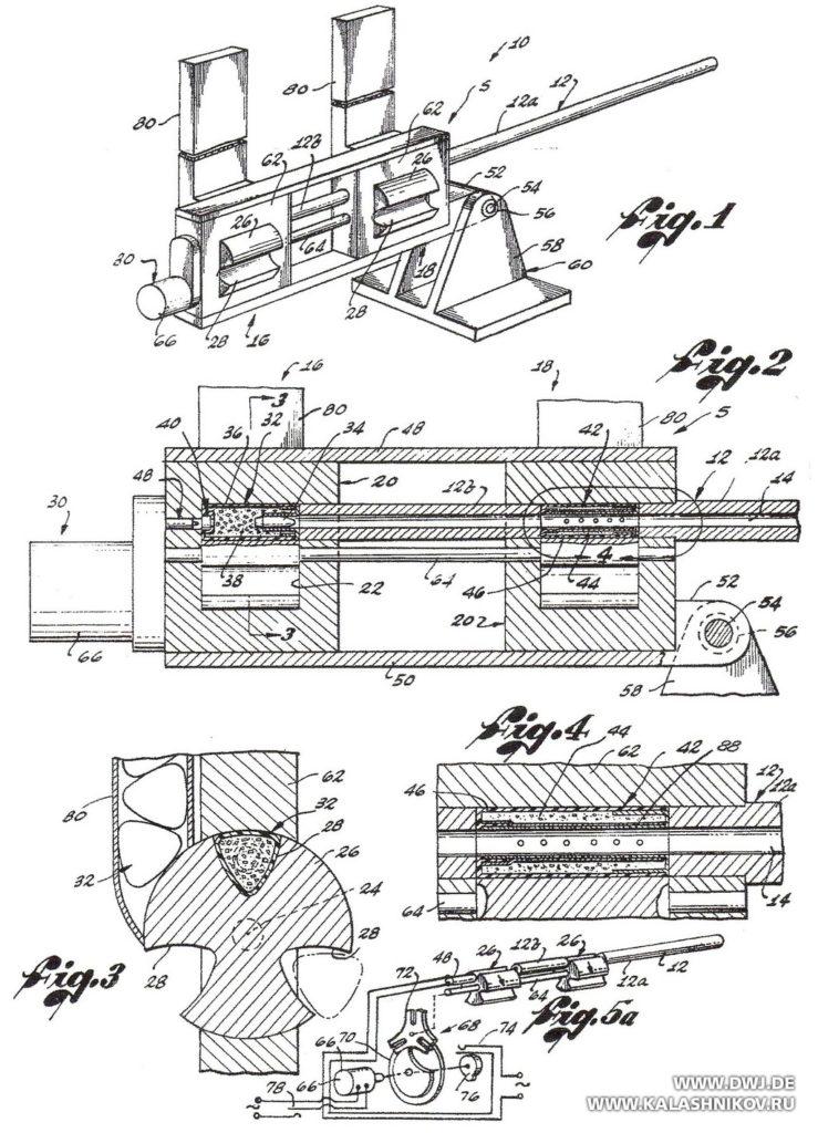 Dardick, chamber, патент