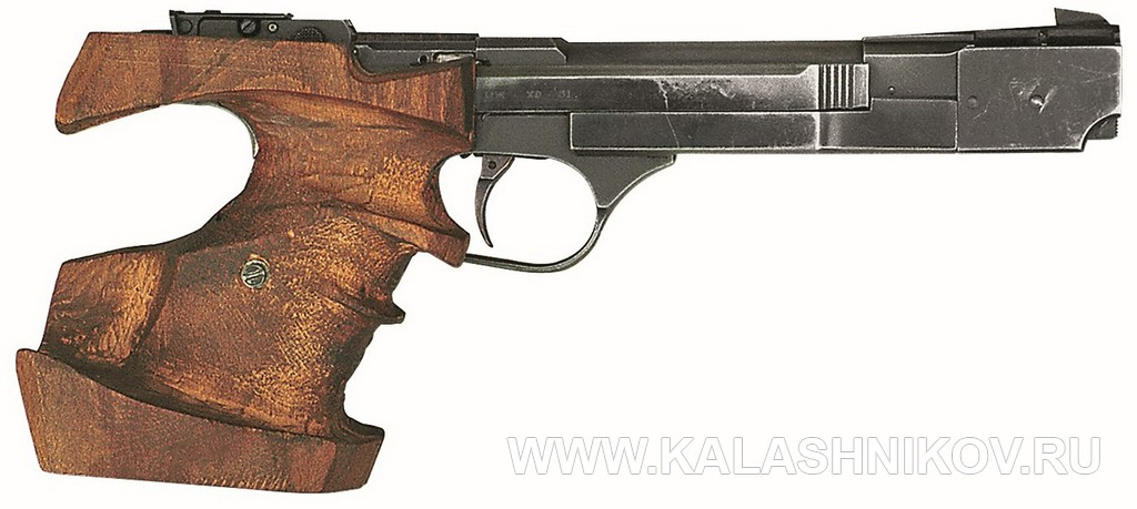 ИЖ ХР-31, пистолет