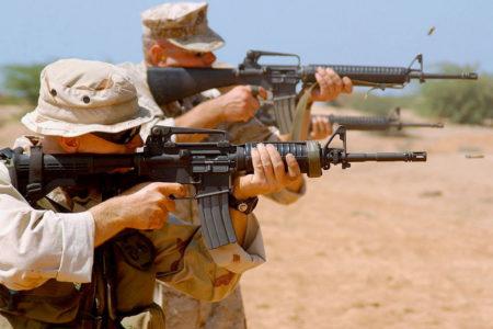 M4A1, M16A2