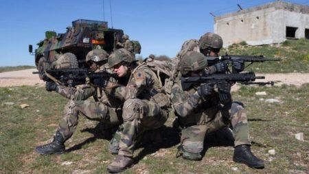 hk416f, французская армия