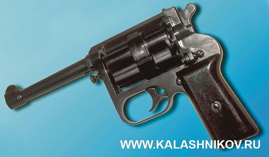 Бесшумный револьвер Гуревича