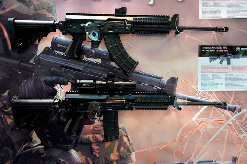 новая модульная автоматическая штурмовая винтовка от компании Zastava Arms