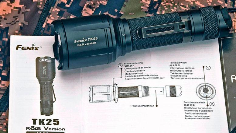 FENIX TK25 RnB: новый тактический фонарь