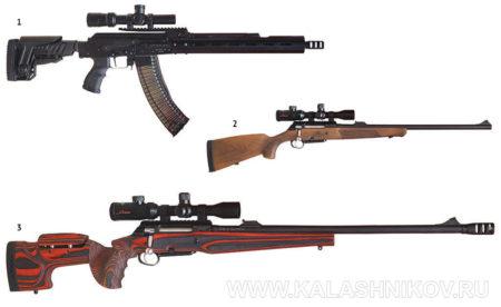 Журнал «КАЛАШНИКОВ», выставка «Оружие и охота» 2017, образцы от ООО «Молот оружие»