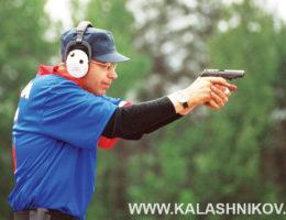 пистолет макарова на стрельбище