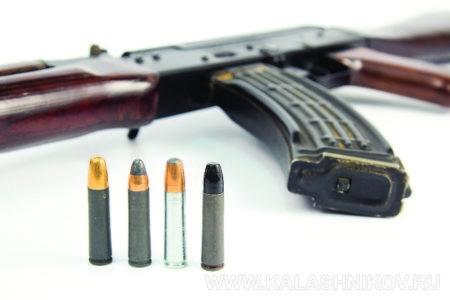 АК-366 и патроны Ланкастер производства «Молот армз»