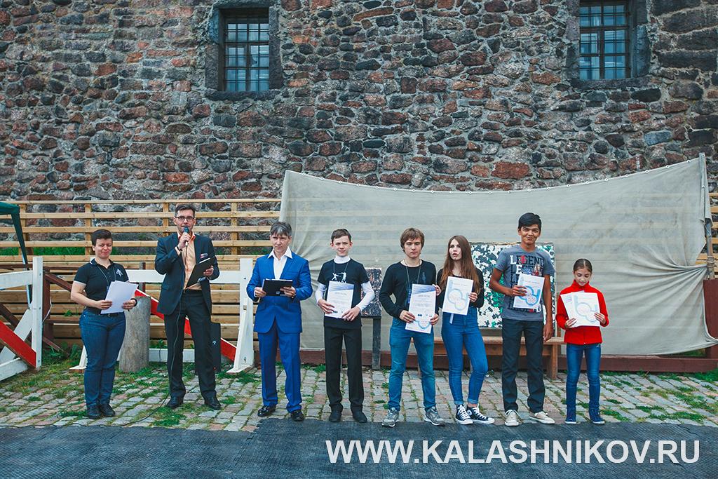 Победители первой Олимпиады арт-фехтования