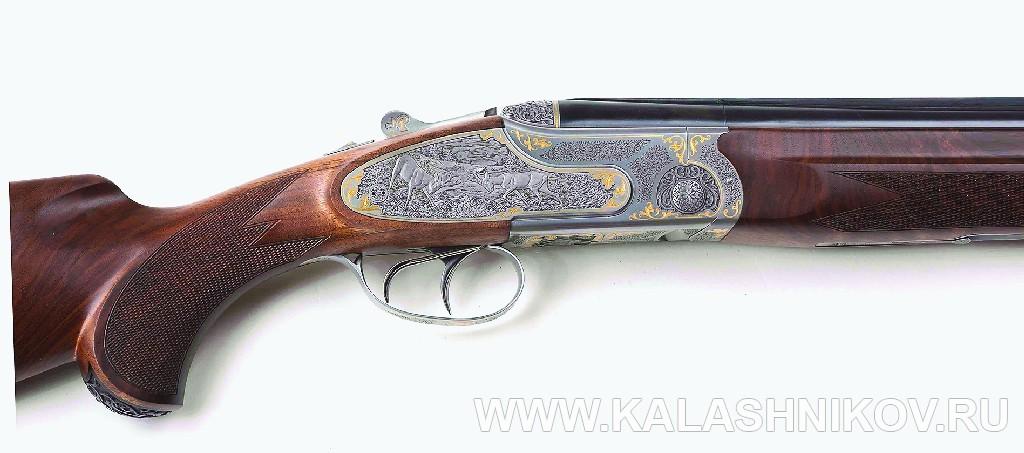 Гравировка ружья фирмы «Левша-Т»