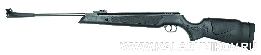 Пружинно-поршневая винтовка NA17«Маэстро». Иллюстрация к статье в журнале «КАЛАШНИКОВ»