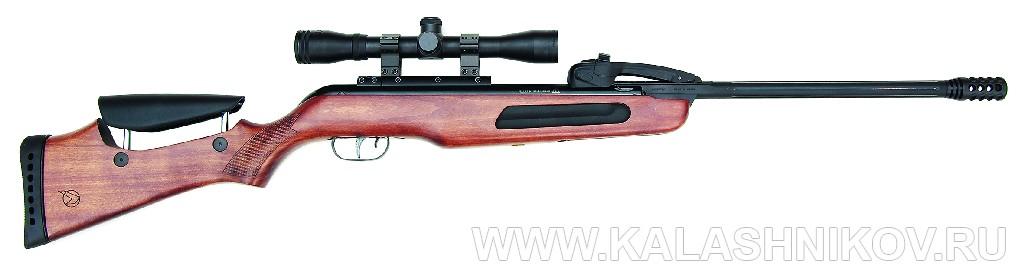 Магазинная пружинно-поршневая винтовка Gamo Fast 10. Иллюстрация к статье в журнале «КАЛАШНИКОВ»