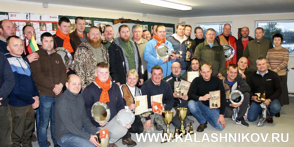 Участники и победители соревнований в эстонской Валге. Иллюстрация к статье в журнале «КАЛАШНИКОВ»