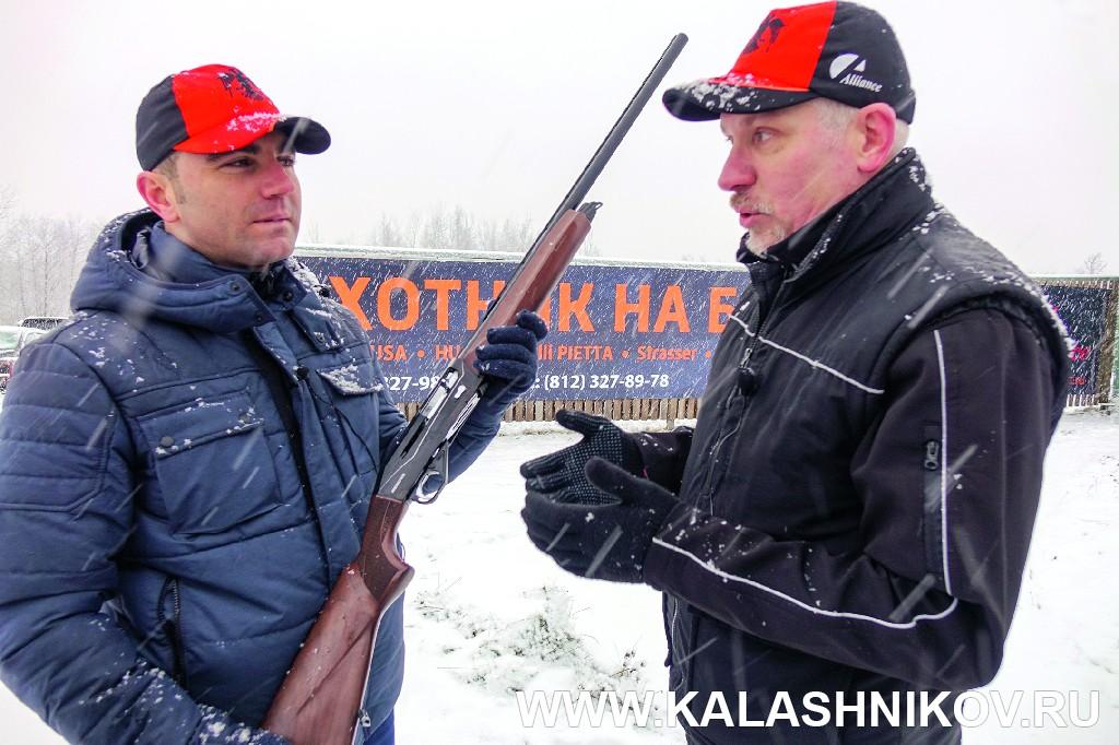 Новое самозарядное ружьё Huglu Renova