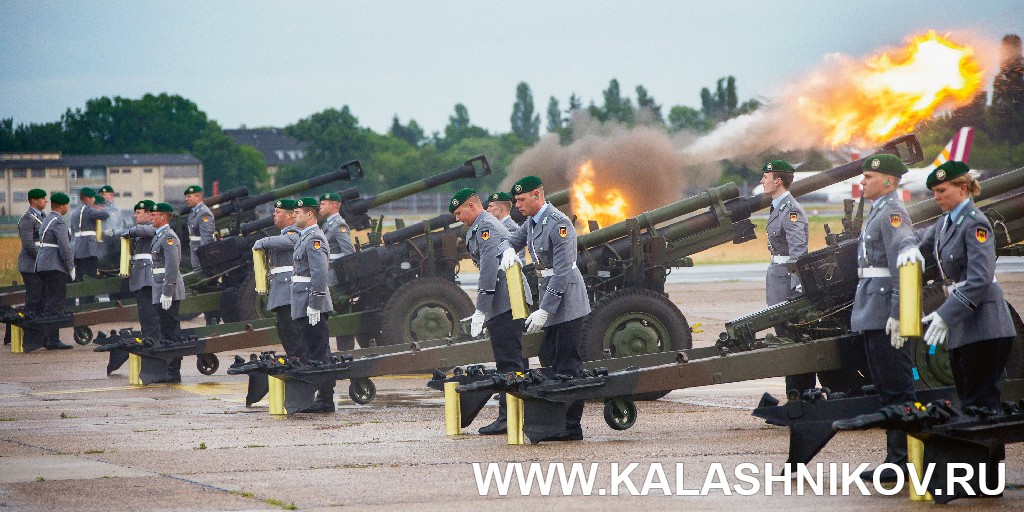 Военнослужащие бундесвера на стрельбах. Иллюстрация к статье в журнале «КАЛАШНИКОВ»