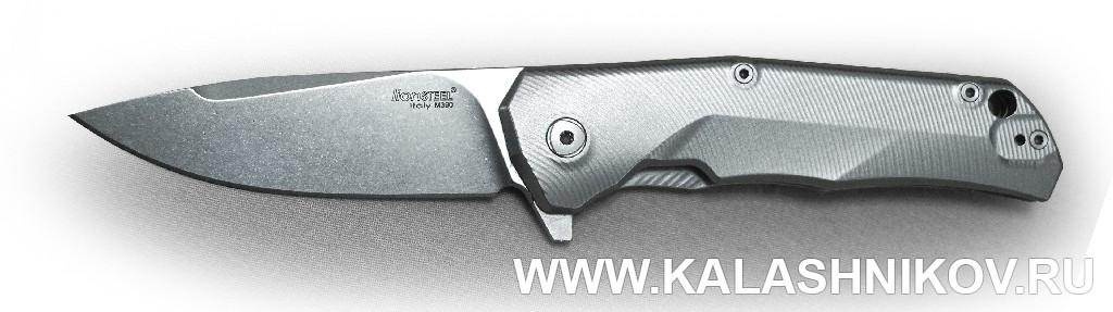Нож T.R.E. компании Lion Steel. Иллюстрация к статье в журнале «КАЛАШНИКОВ»