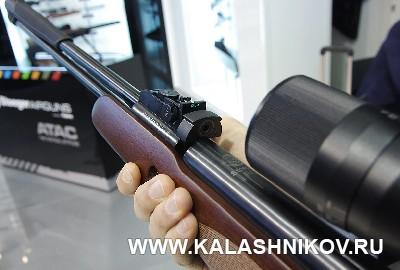 Пулеприёмник винтовки F40. Иллюстрация к статье в жернале «КАЛАШНИКОВ»