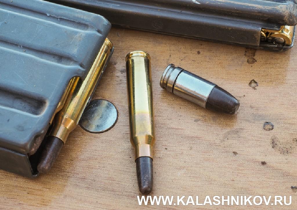 Боеприпасы с разрушающимися пулями. Иллюстрация к статье в журнале «КАЛАШНИКОВ»