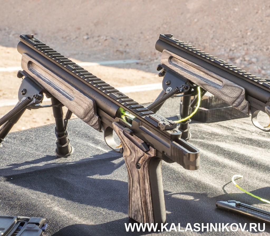 Сошки на малокалиберных пистолетах. Иллюстрация к статье в журнале «КАЛАШНИКОВ»