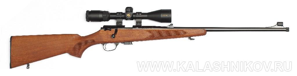 Охотничий карабин Zastava MP22 калибра .22 LR. Иллюстрация к статье в журнале «КАЛАШНИКОВ»