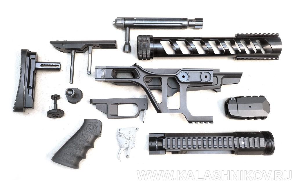 Комплект для сборки  винтовки ТСВЛ-8 «Сталинград». Фото из журнала «Калашников»