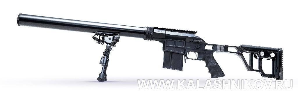 Специальная винтовка ДВЛ-10 «Диверсант». Фото из журнала «Калашников»