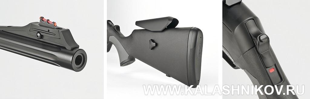 Детали Browning BAR Mk III Composite HC. Фото из журнала «Калашников»