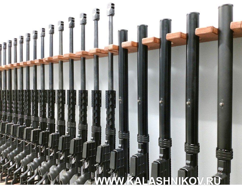 Готовые  винтовки ДВЛ-10 М1 «Диверсант» и ДВЛ-10 М2 «Урбана». Фото из журнала «Калашников»