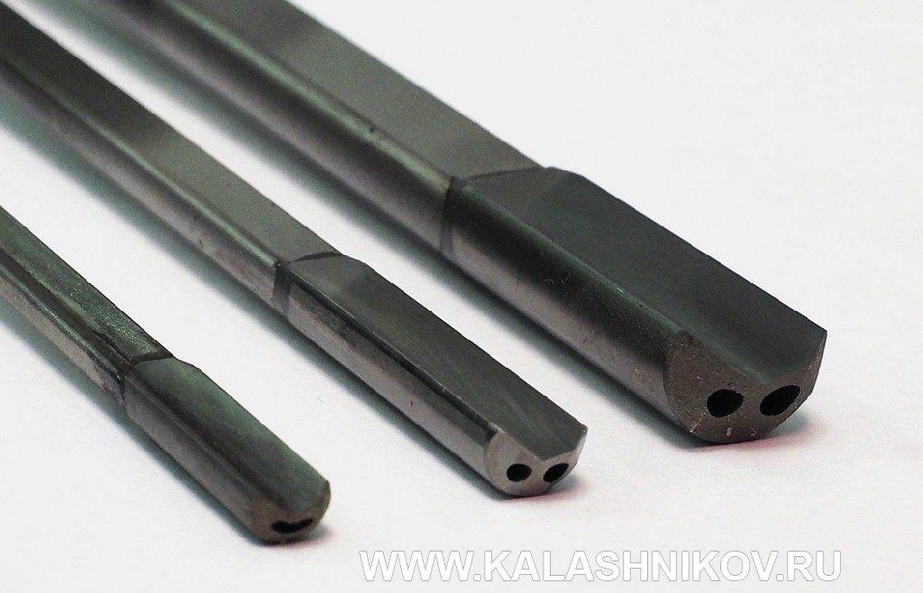 Ствольные свёрла для калибров 6 мм, 7,62 мм и 12,7 мм. Фото из журнала «Калашников»