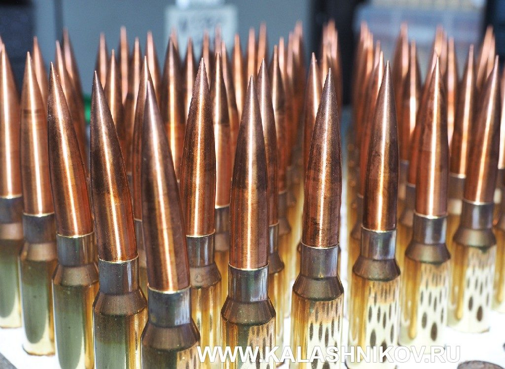 Подсборки патронов калибра .408 Chey Tac. Фото из журнала «Калашников»