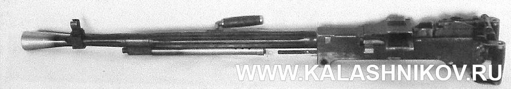 Пулемёт Силина, вид слева. Фото из журнала «Калашников»