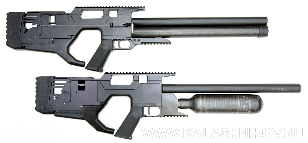 Два прототипа от южнокорейской компании Meca Evanix. Фото из журнала «Калашников»