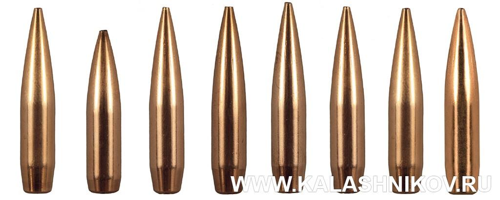 6,5-мм пули американского производителя Berger Bullets. Фото из журнала «Калашников»