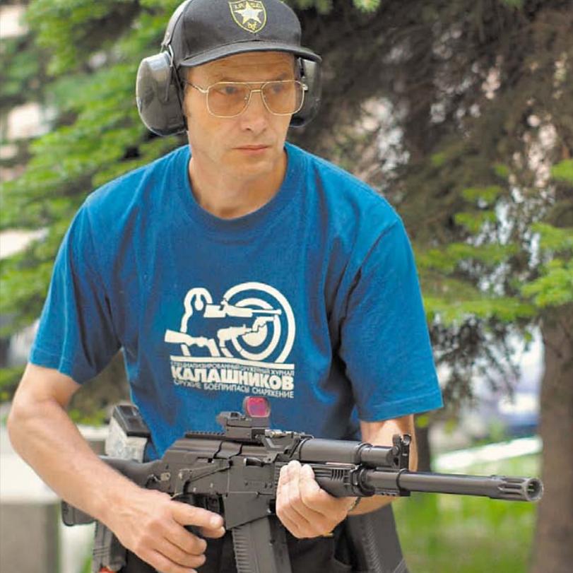 """Евгений Ефимов, """"Сайга-30"""". Фото из журнала """"Калашников"""""""