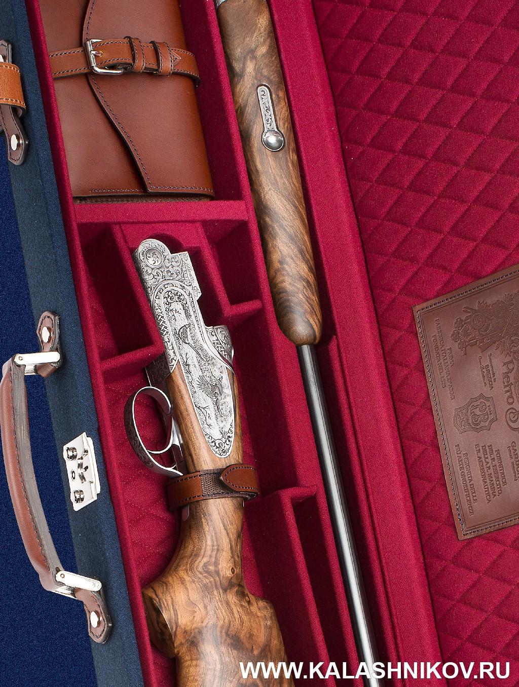 Ружьё Beretta SL3 в кейсе. Фото из журнала «Калашников»