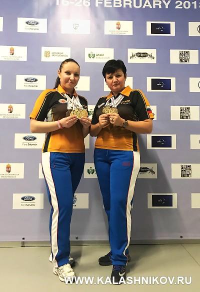Ольга Степанова и Ирина Измалкова. Фото из журнала «Калашников»