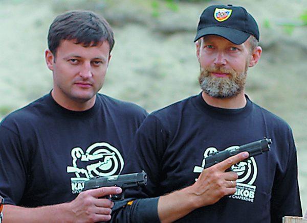Михаил Гущин и Виталий Крючин