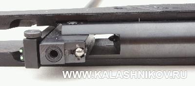 Система запирания ствола пневматической винтовки NA 17 «Маэстро». Фото из журнала «Калашников»