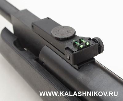 Целик пневматической винтовки NA 17 «Маэстро». Фото из журнала «Калашников»