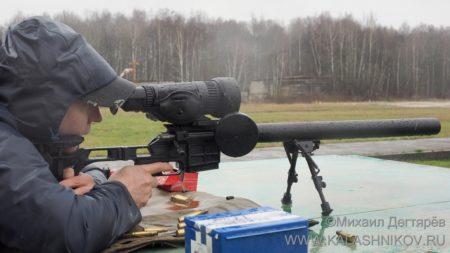 "ДВЛ-10 ""Диверсант"" на стрельбище"