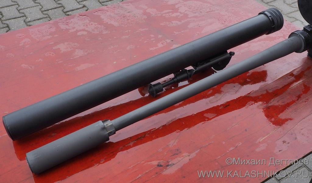 Винтовка ДВЛ-10 М1 «Диверсант»
