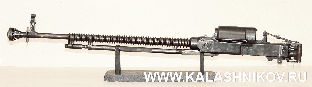 14,5-мм пулемёт Дегтярёва. Журнал «Калашников»