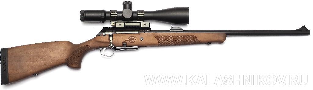 Охотничий карабин «Егерь» (вариант ВПО-111). Фото из журнала «Калашников»
