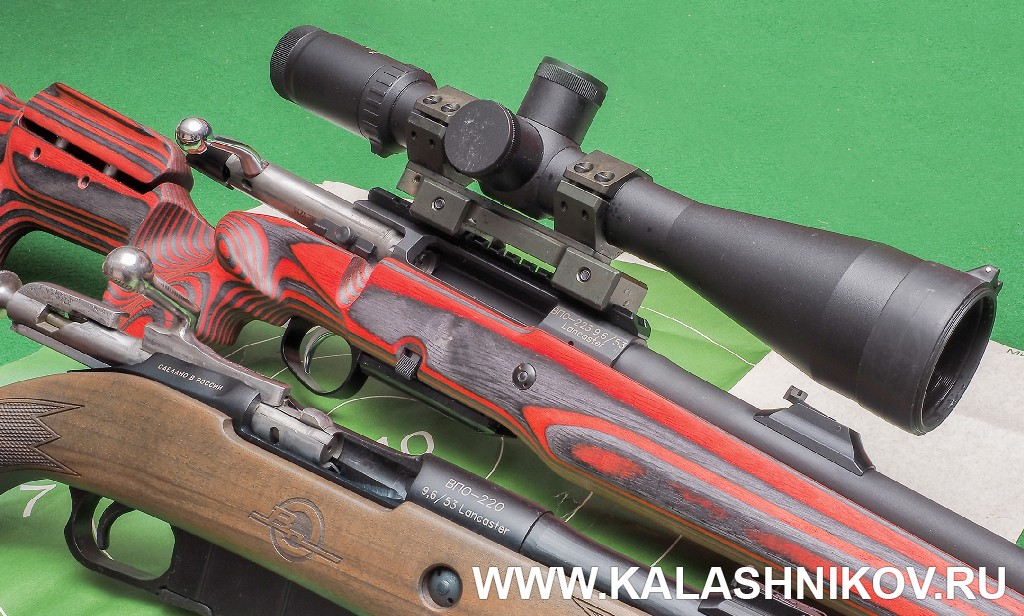 Ружья ВПО-220 и ВПО-223 калибра 9,6/53 Lancaster. Журнал «Калашников»