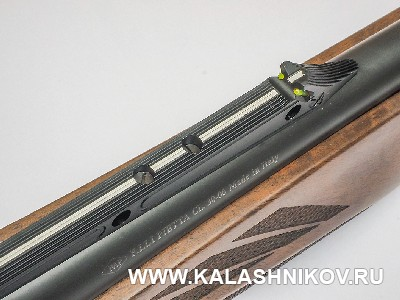 Прицельная планка карабина Pietta Chronos. Журнал «Калашников»