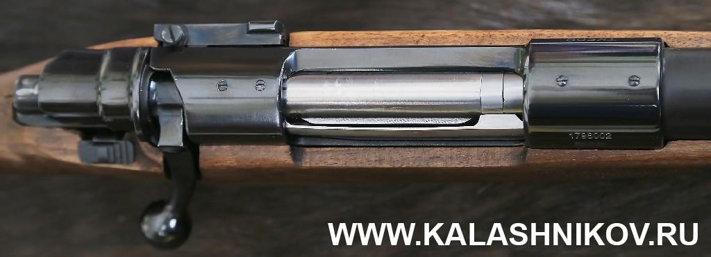 Отверстия для крепления планки «Пикатини» карабина ТК598 калибра 9,6/53 Lancaster. Фото из журнала «Калашников»