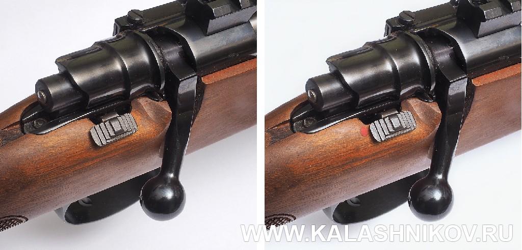 Предохранитель карабина Zastаva M70 FS (.308 Win.). Фото из журнала «Калашников»